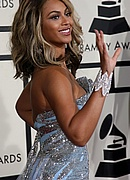 Beyonce on the Red Carpet at the 50th Annual Grammys