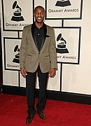 Tank on the Red Carpet at the 50th Annual Grammys