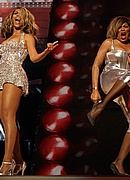 Beyonce & Tina Turner perform at the 50th Annual Grammys