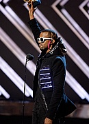 Kanye West at the 50th Annual Grammys