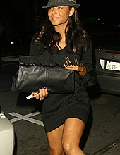Christina Milian leaving Villa nightclub in LA