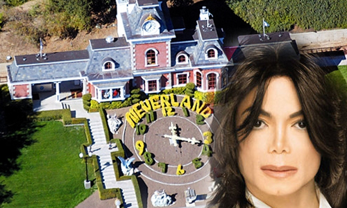 MICHAEL JACKSON WILL BE SELLING NEVERLAND RANCH