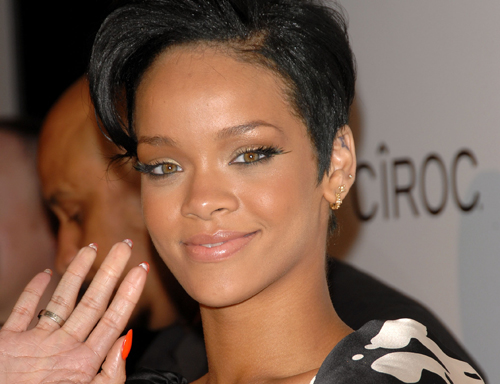 RIHANNA IN POST-GRAMMY CAR ACCIDENT