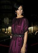 Rihanna at Swarovski party in Paris