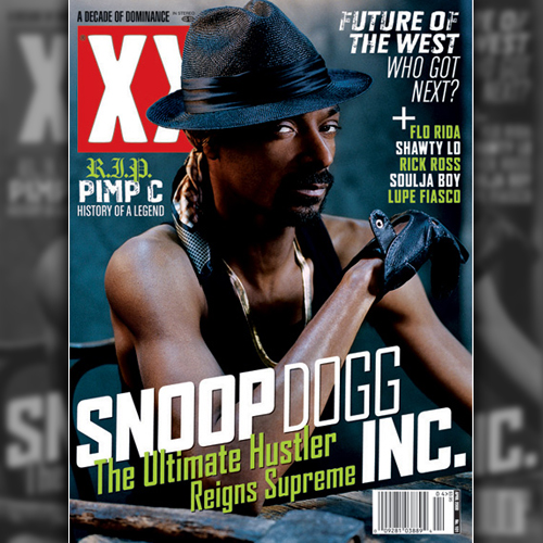 Snoop Dogg Covers XXL - April 2008