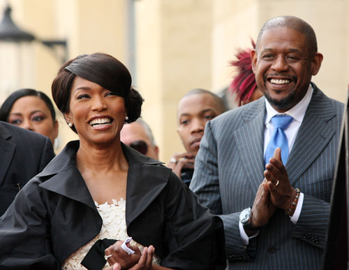 Angela Basset & Forest Whitaker