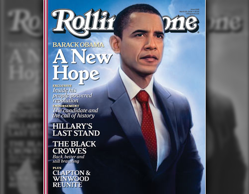 Barack Obama Covers Rollingstone