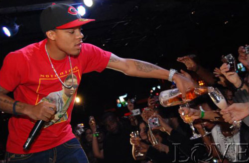 Bow Wow at his bday party in D.C.