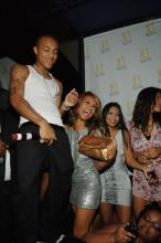 Bow Wow at his 21st bday party in Vegas