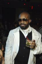 Jermaine Dupri at Bow Wow's 21st bday party in Vegas