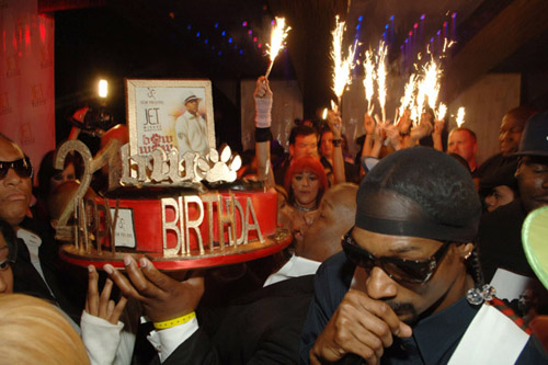Bow Wow's 21st bday party in Vegas