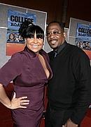"Raven and Martin at the ""College Roadtrip"" movie premiere"