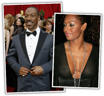 Eddie Murphy Says Mel B Tricked Him into Having a Baby
