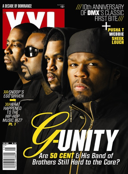 G-Unit Covers XXL's May 2008 Issue