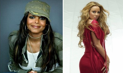 JANET JACKSON RECOVERING FROM THE FLU // MARIAH CAREY TO REPLACE HER FOR SNL PERFORMANCE