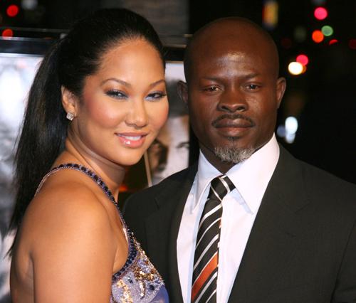 New Rumor: Kimora Lee Simmons and Djimon Honsou Expecting?
