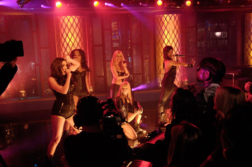 Danity Kane performing at the MTB4 (Season 2) finale