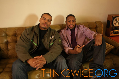 "Raheem Devaughn and (director) Benny Boom on the set of ""Customer"""