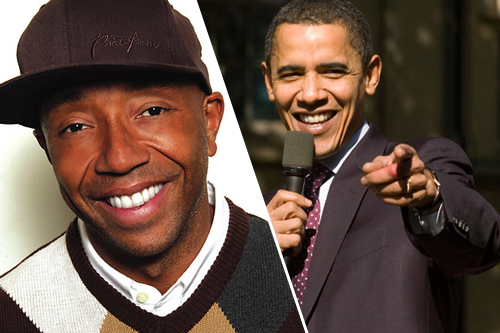Russell Simmons Publicly Endorses Barack Obama