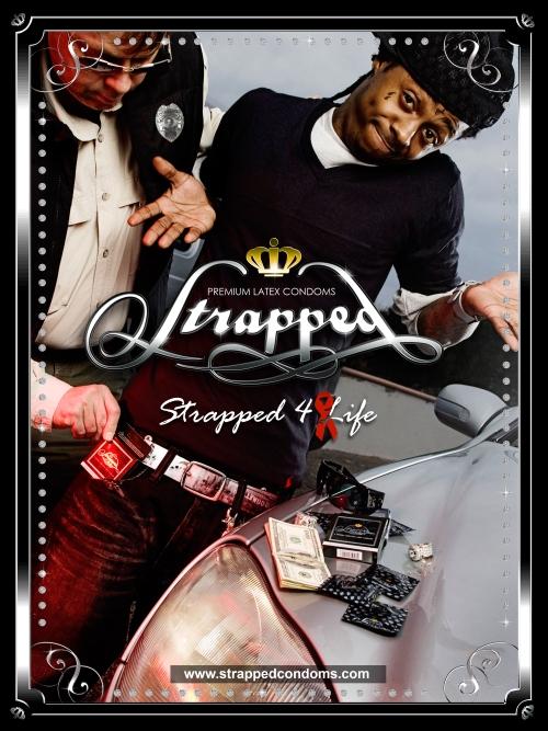 Lil Wayne Strapped Condoms Ad