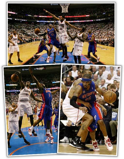 76ers Vs. Pistons