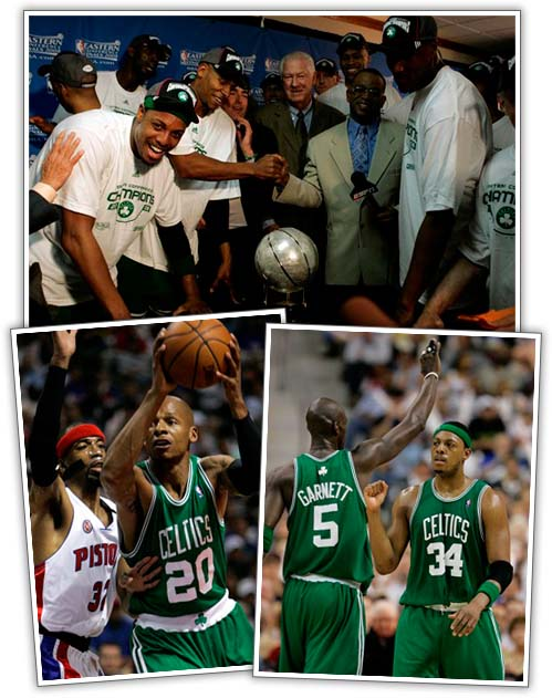 Celtics Become Eastern Conference Champions!