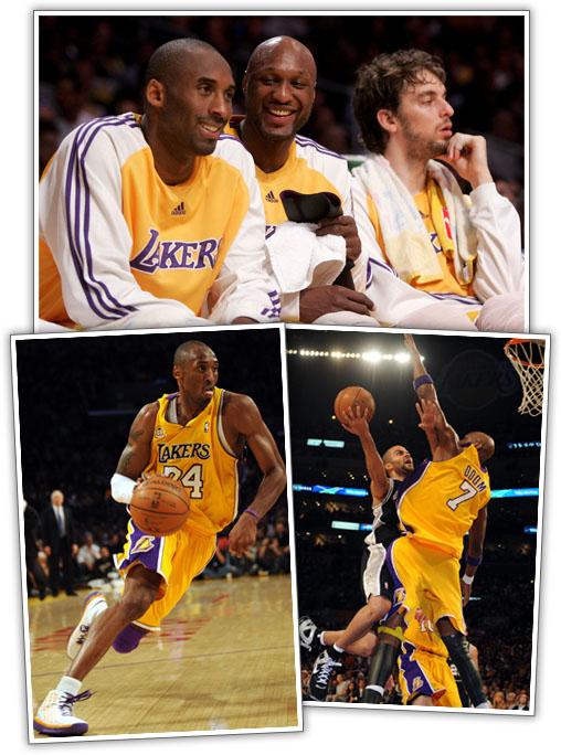 Lakers Lead 2-0!