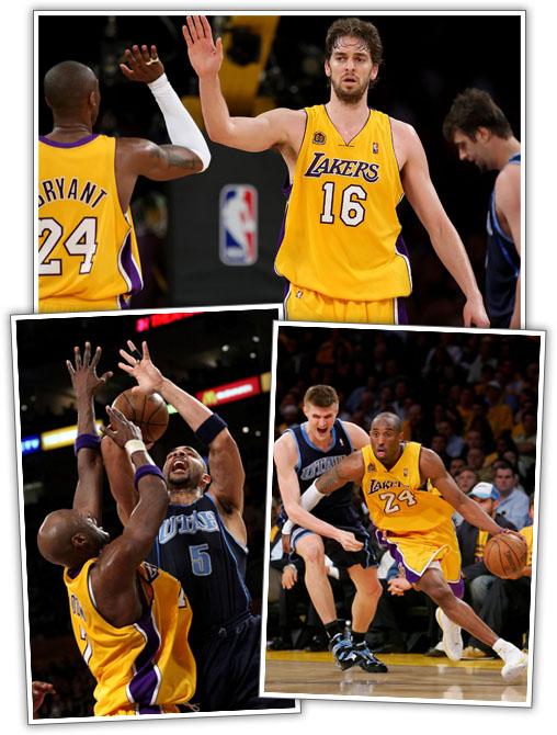 Lakers Lead (2-0)