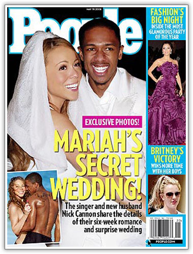 Mariah Carey & Nick Cannon Married For Real!