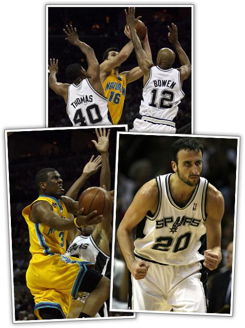 Spurs Take Game 6