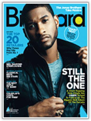 Usher Covers Billboard