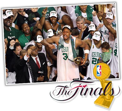 Celtics Win 2008 Finals Championship!!!!