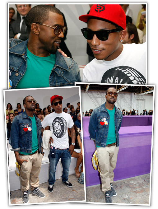 CANDIDS] Kanye West // Pharrell Williams // Beyonce ...