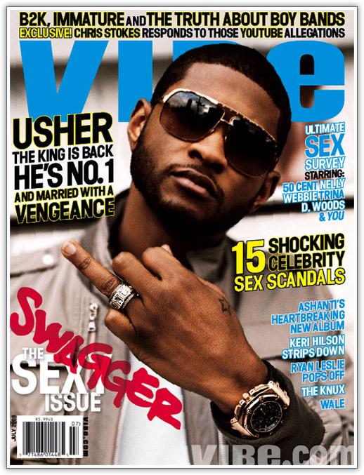 Usher Covers Vibe