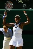 Venus Williams Joys Over Her Win @ The 2008 Wimbeldon Championship