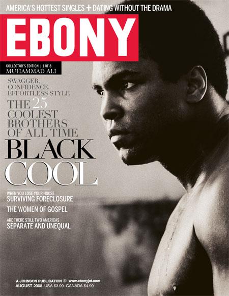Obama ebony magazine cover