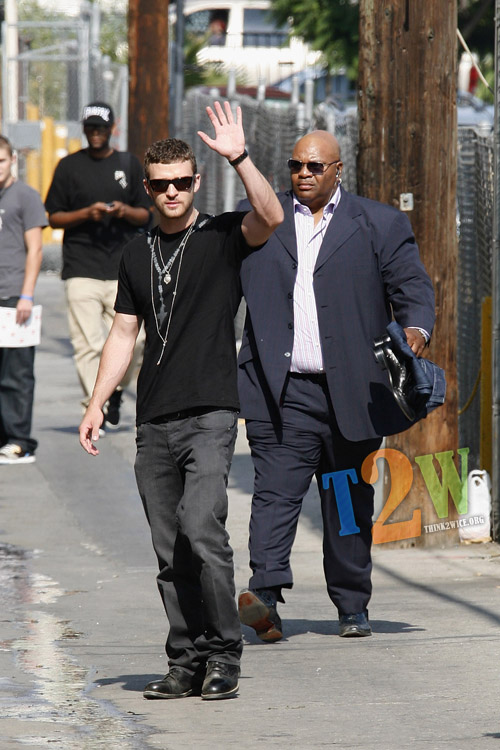 SPOTTED] Justin Timberlake in Los Angeles Justin Timberlake