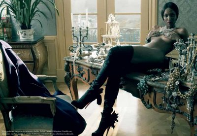 Toccara Jay Z And Naomi Campbell Featured In All Black