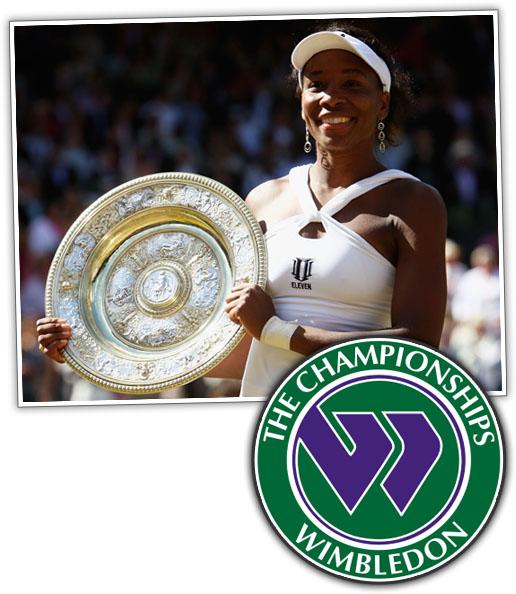 Venus Williams Wins 2008 Wimbeldon Championship