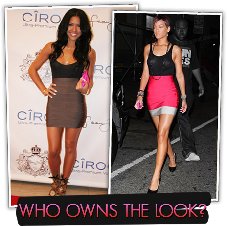 "In this edition of ""Who Owns the Look"" we have Singers Cassie and Rihanna"