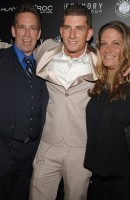 Donnie and his parents, Donald and Michelle