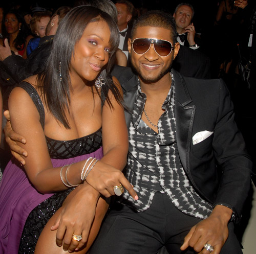 Usher & Tameka ( PHOTO: GETTY IMAGES )