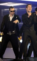 New Kids on the Block // 2008 American Music Awards