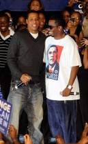 Jay Z and Diddy at The LAst Chance For Change Rally In Florida