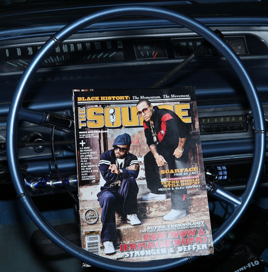 Bow Wow & JD\'s SOURCE Magazine Cover