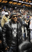Young Jeezy // Atlanta Hawks vs Cleveland Cavaliers game