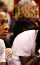 Bow Wow & Lil Wayne // Heat/Bobcats basketball game