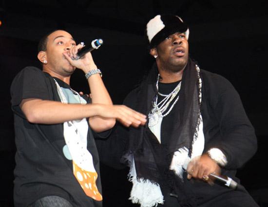 Ludacris & Busta Rhymes // 2008 Holiday Bash