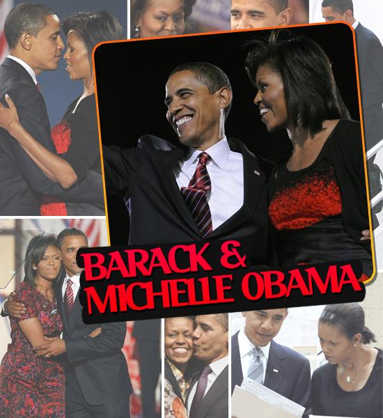 HOTTEST COUPLES OF 2008 - BARACK & MICHELLE OBAMA