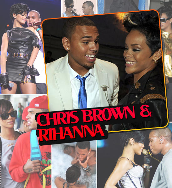 HOTTEST COUPLES OF 2008 - CHRIS BROWN & RIHANNA